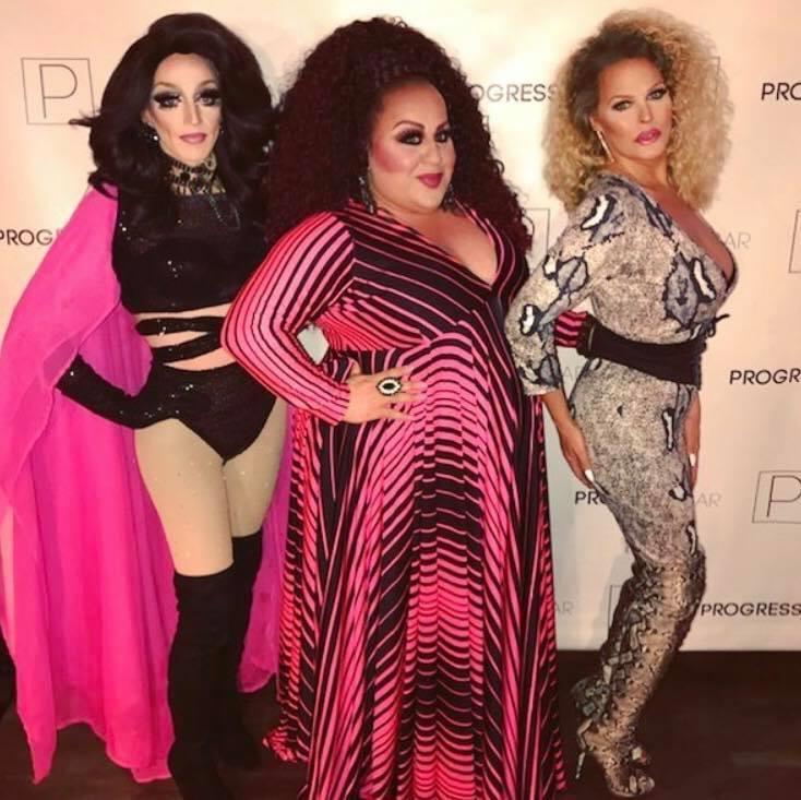 Tori Sass, Mercedes Tyler and Mimi Marks | Progress Bar (Chicago, Illinois) | June 2018