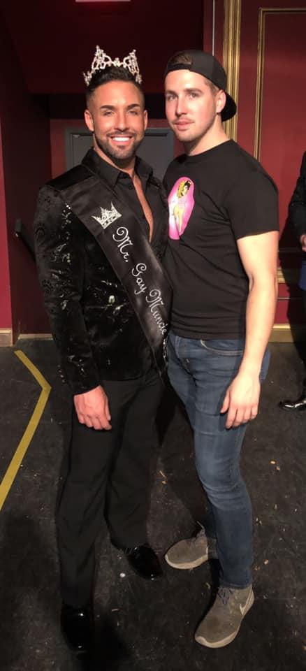 Mykul Jay Valentine and Corbin Jay Kelly   Mr. Gay Muncie   Mark III Tap Room (Muncie, Indiana)   11/15/2019