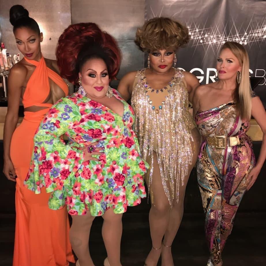 Joan Jullian, Mercedes Tyler, Victoria LePaige and Mimi Marks | Progress Bar (Chicago, Illinois) | November 2018