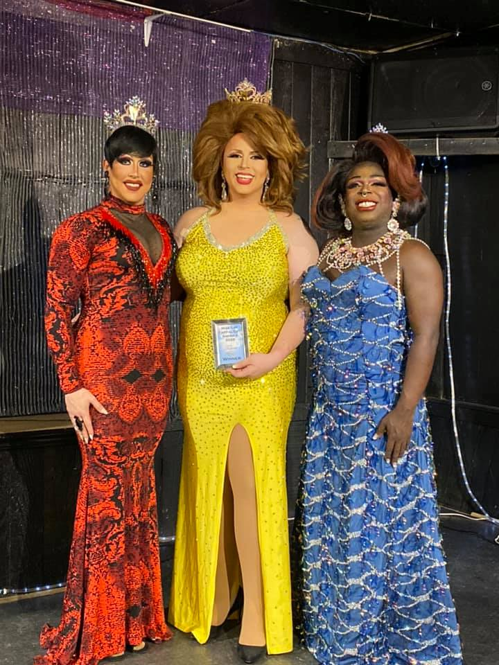 Courtney Kelly, Tasha Salad and Cherry Poppins | Miss Gay Capital City America | Southbend Tavern (Columbus, Ohio) | 2/22/2020