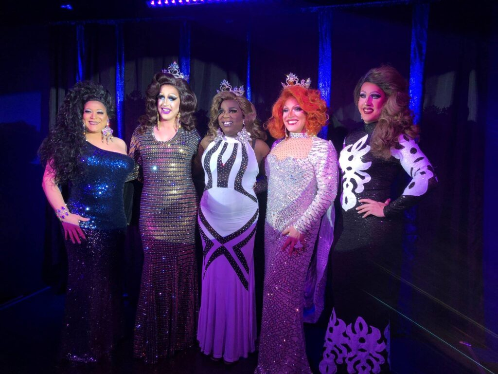 Paris Mann, Eris Melody Grey, Cherry Poppins, Valerie Valentino and Courtney Kelly | Miss Gay Capital City America | Boscoe's (Columbus, Ohio) | 11/24/2018