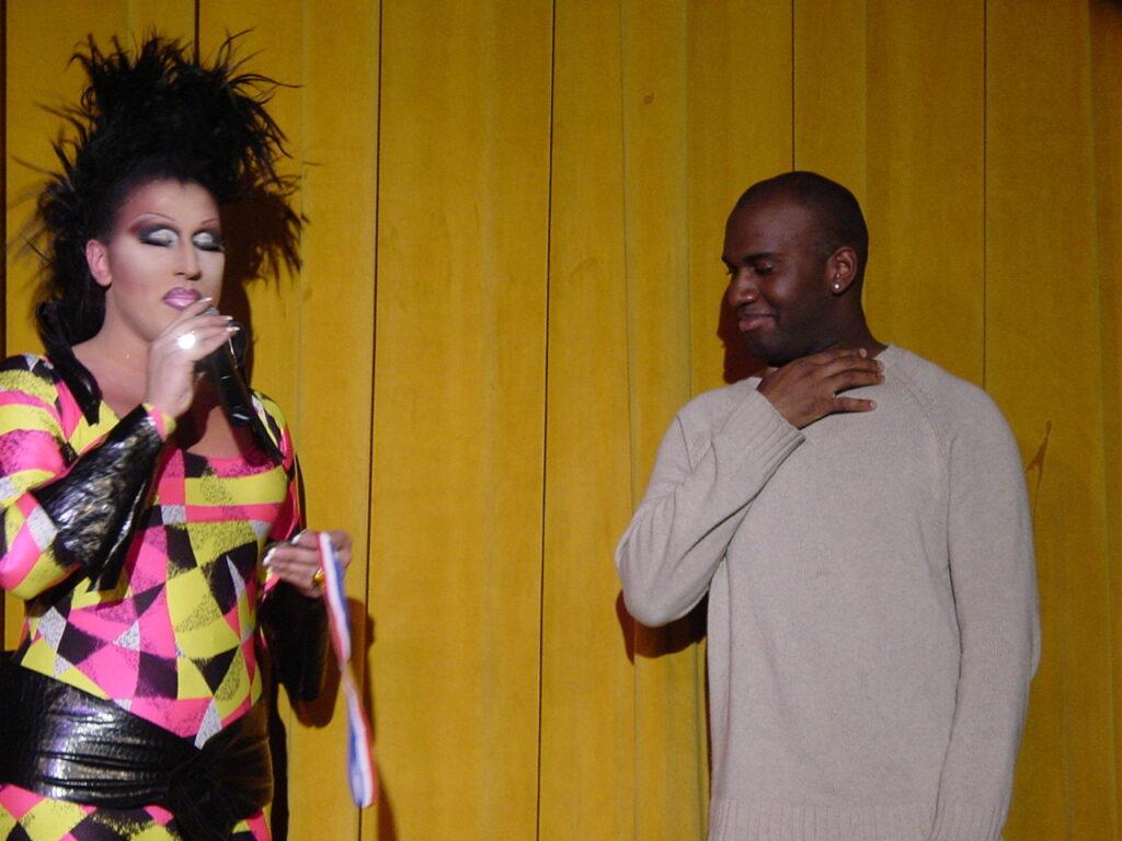 Sierra Seville and Saidue | Miss Gay North USofA | Axis Nightclub (Columbus, Ohio) | Circa 2004