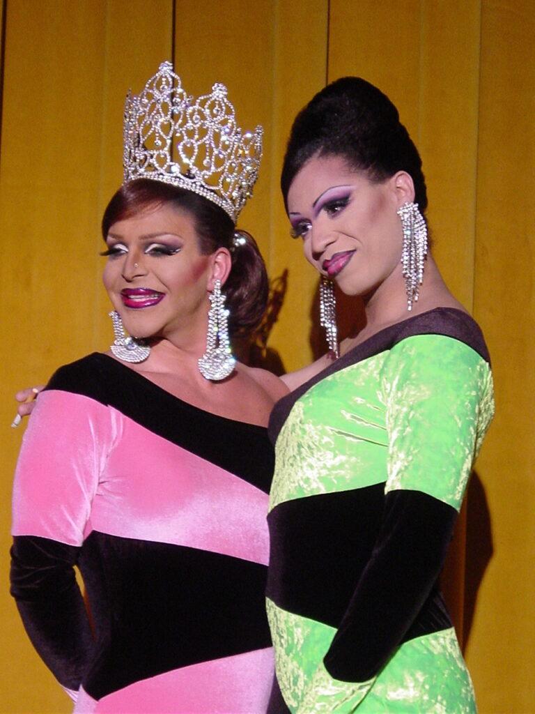 Maria Garrison and Andria Michaels | Miss Gay North USofA | Axis Nightclub (Columbus, Ohio) | Circa 2004