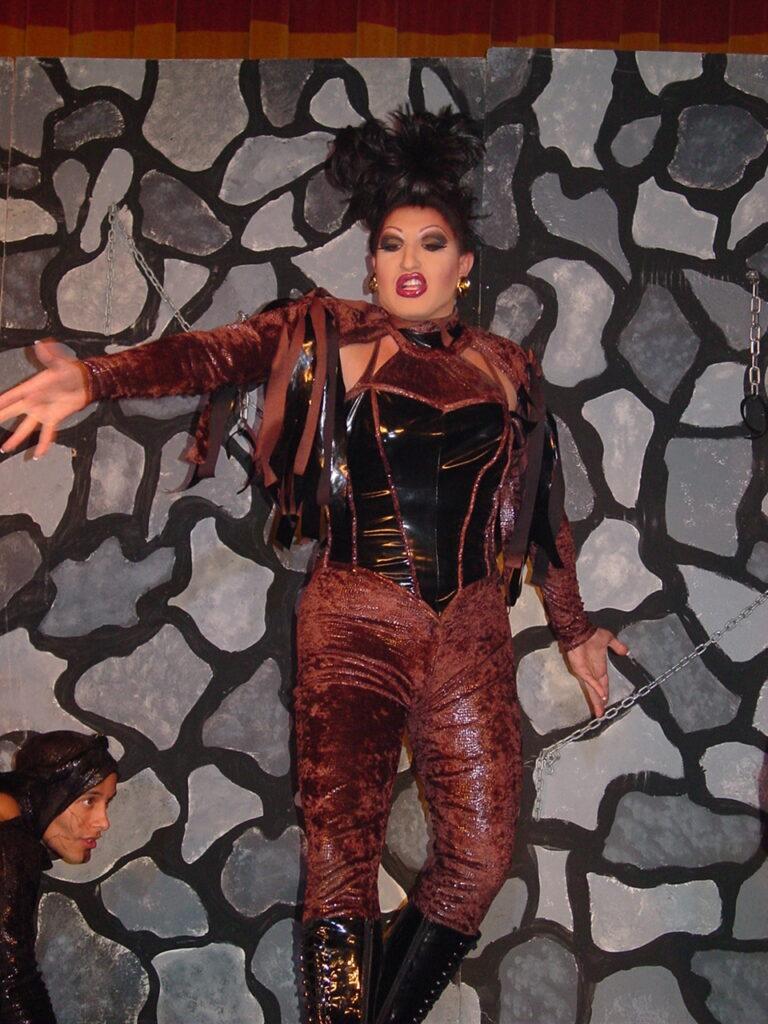 Virginia West in Talent Category | Miss Gay North USofA | Axis Nightclub (Columbus, Ohio) | Circa 2004