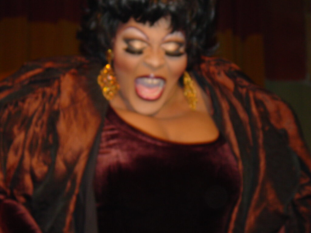 Whitney Paige in Talent Category | Miss Gay North USofA | Axis Nightclub (Columbus, Ohio) | Circa 2004