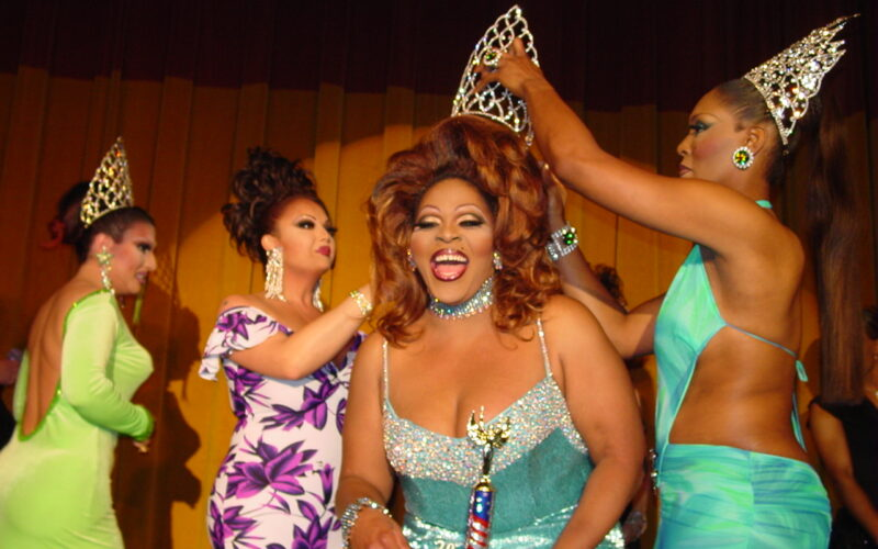 Whitney Paige is crowned Miss Gay North USofA 2004 | Miss Gay North USofA | Axis Nightclub (Columbus, Ohio) | Circa 2004