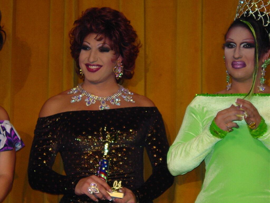 Virginia West and Sierra Seville | Miss Gay North USofA | Axis Nightclub (Columbus, Ohio) | Circa 2004