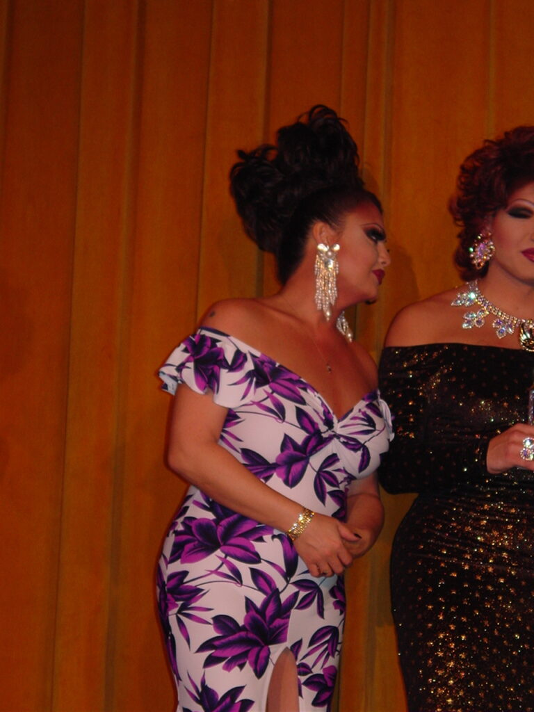 Maya Douglas and Virginia West | Miss Gay North USofA | Axis Nightclub (Columbus, Ohio) | Circa 2004