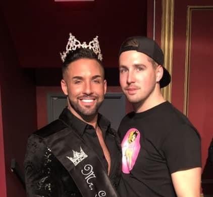 Mykul Jay Valentine and Corbin Jay Kelly | Mr. Gay Muncie | Mark III Tap Room (Muncie, Indiana) | 11/15/2019 CROPPED