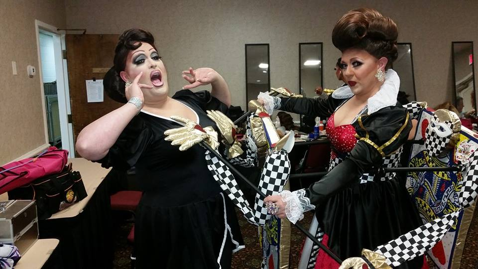 Alexis Stevens and Britney Blaire | Miss Gay America | Millennium Maxwell House Hotel (Nashville, Tennessee) | 10/8-10/12/2014