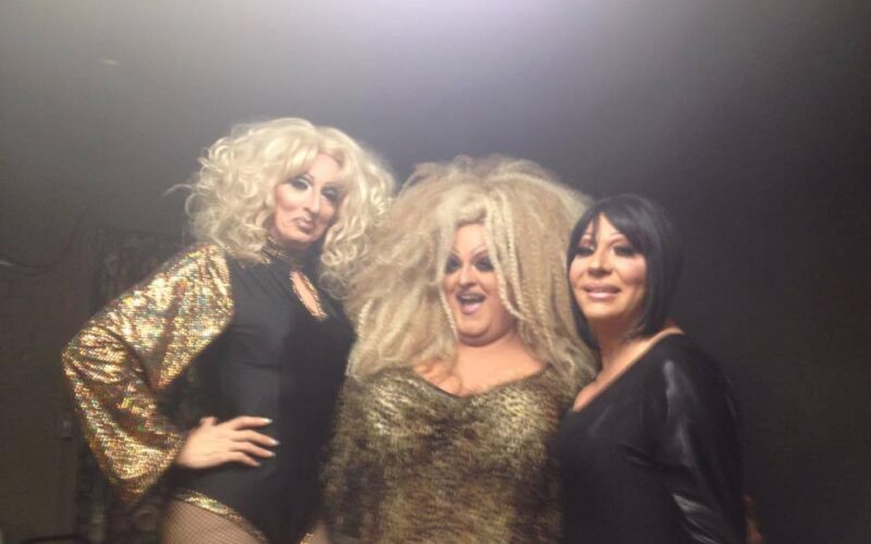 Samantha Rollins, Vivian Von Brokenhymen and Sonya Ross | Toolbox Saloon (Columbus, Ohio) | October 2014