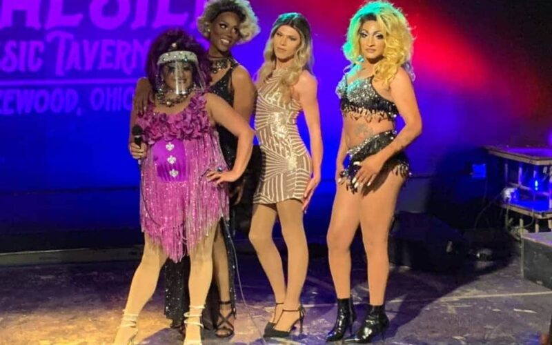 Sassy Sascha, Shari Turner, Sierra Simone and Kaleigha Diamond | Sassy Sascha's Sunday Funday Drag Brunch | The Winchester Music Tavern (Lakewood, Ohio) | 7/19/2020