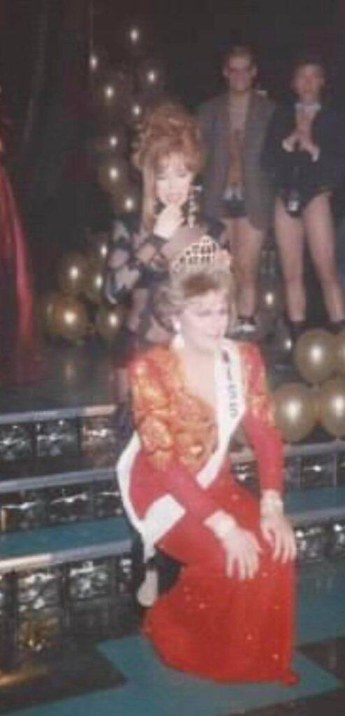 Samantha Rollins crowning Regan Addison as the new Miss Dock | Miss Dock | Dock (Cincinnati, Ohio) | Circa 1993