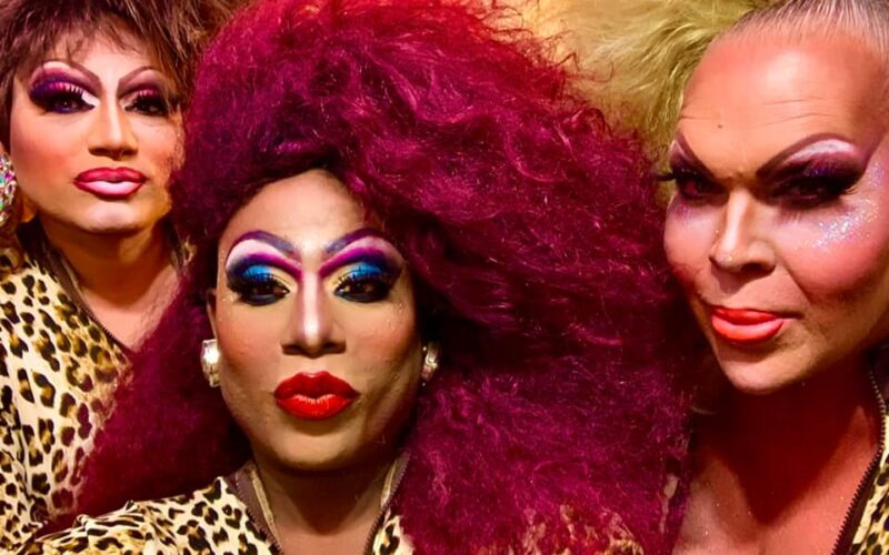 Monica Moore, Antwanette Chanel Roberts and Dena Cass | Hamburger Mary's (Clearwater, Florida) | July 2020