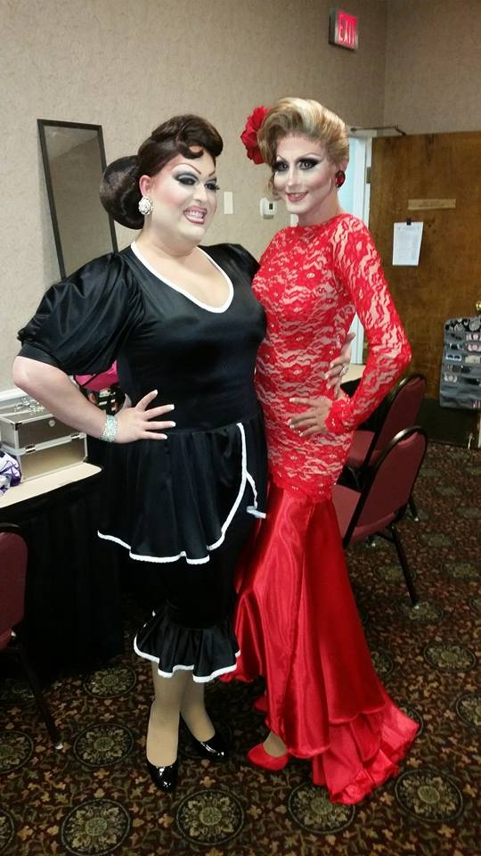 Alexis Stevens and Taylor Madison Monroe | Miss Gay America | Millennium Maxwell House Hotel (Nashville, Tennessee) | 10/8-10/12/2014