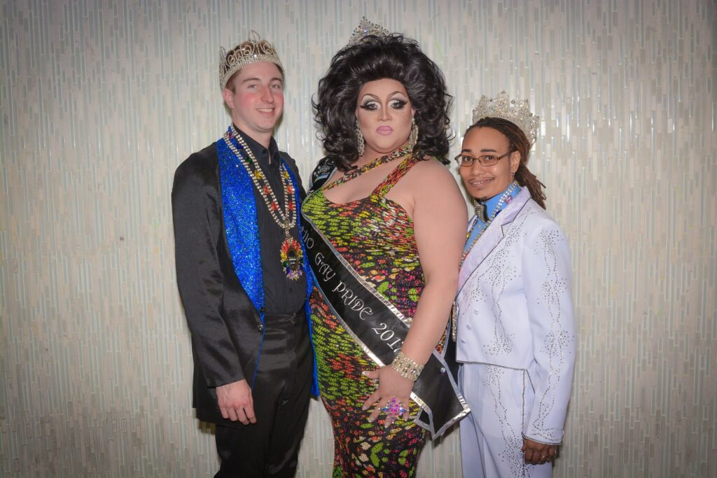 Dane Decardeza, Reianna Ali and Devon Ayers - Photo by Bryce McCaughey | Miss Ohio Gay Pride | Axis Night Club (Columbus, Ohio) | 11/11-11/13/2016