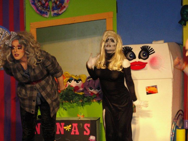 Chutney Sinclair and Barbie Roberts | Nina West's Playhouse | Axis Nightclub (Columbus, Ohio) | 3/25-4/2/2011