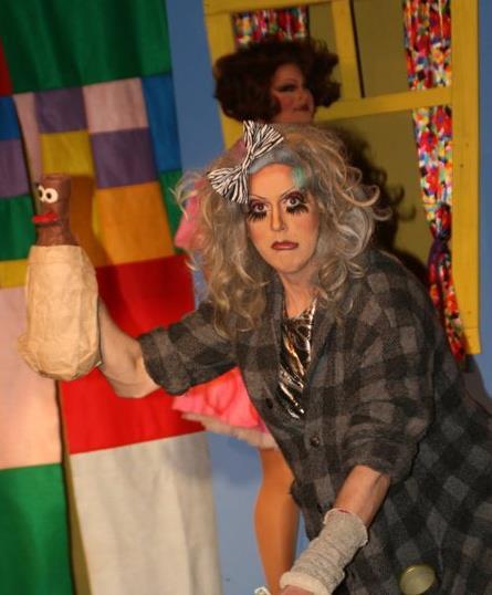 Chutney Sinclair and Nina West (back) | Nina West's Playhouse | Axis Nightclub (Columbus, Ohio) | 3/25-4/2/2011