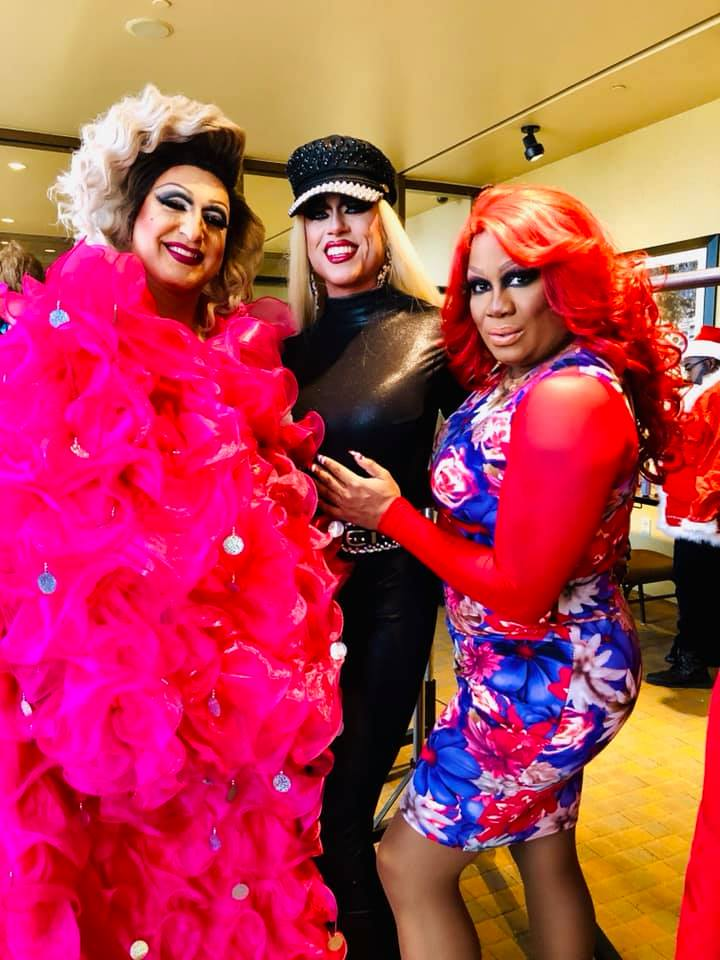 Virginia West, Deva Station and Anisa Love | (Mis)Leading Ladies Drag Brunch: Holiday Edition | Hollywood Casino (Columbus, Ohio) | 12/9/2018