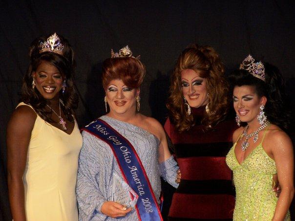 Jade', Hellin Bedd, Beverly Ford and Mikaila Kay   Miss Gay Ohio America   Axis Nightclub (Columbus, Ohio)   7/18-7/20/2008