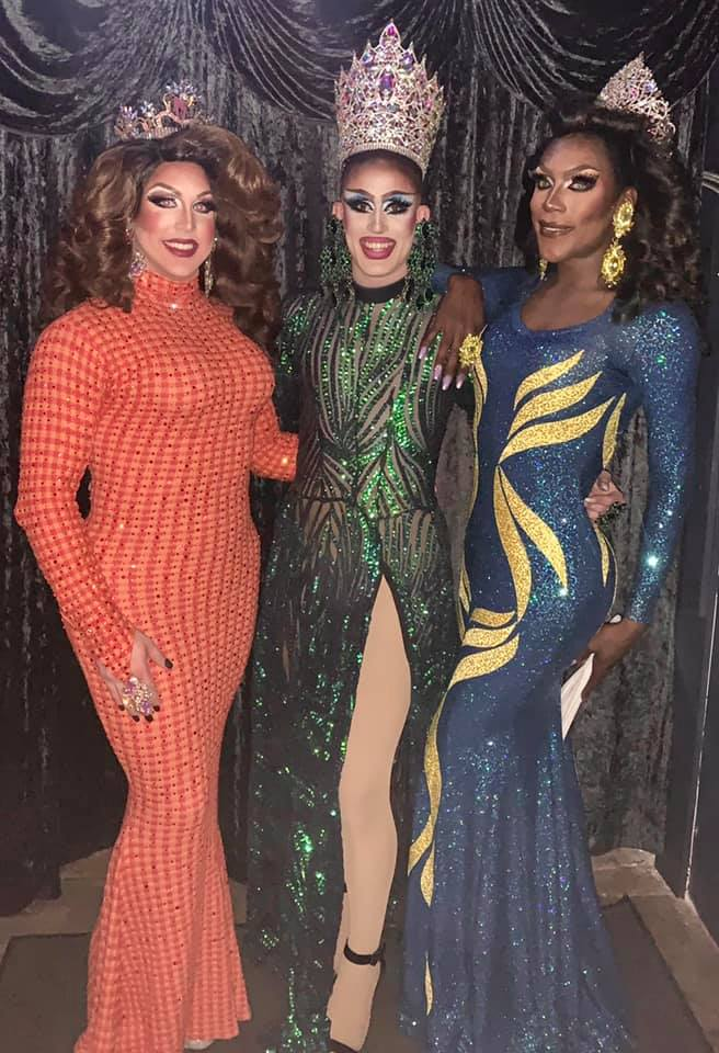 Courtney Kelly, Soy Queen and Jada Fenix-Lorez   A.W.O.L. (Columbus, Ohio)   August 2019