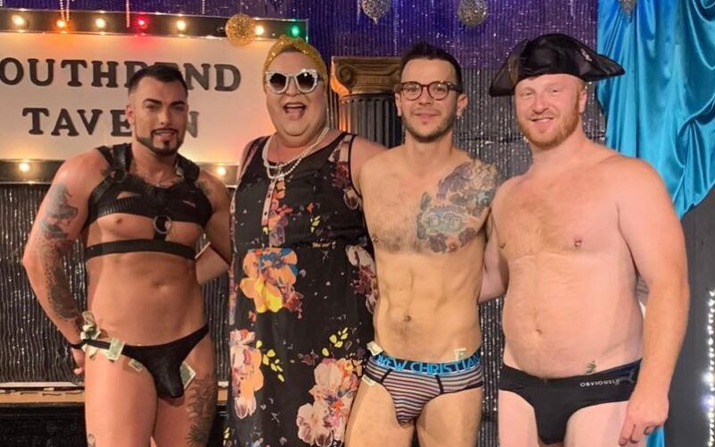 Gunner Scout, Stella, Johnny Dangerously and Ryan Dreamsicle   Southbend Tavern (Columbus, Ohio)   September 2019 CROPPED