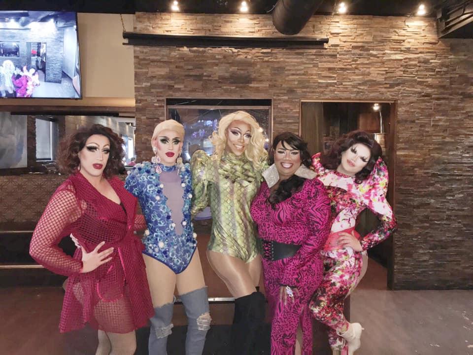 Eris Melody Grey, Soy Queen, Boyoncé, Vee Love and Selena T. West | Union Cafe (Columbus, Ohio) | October 2019