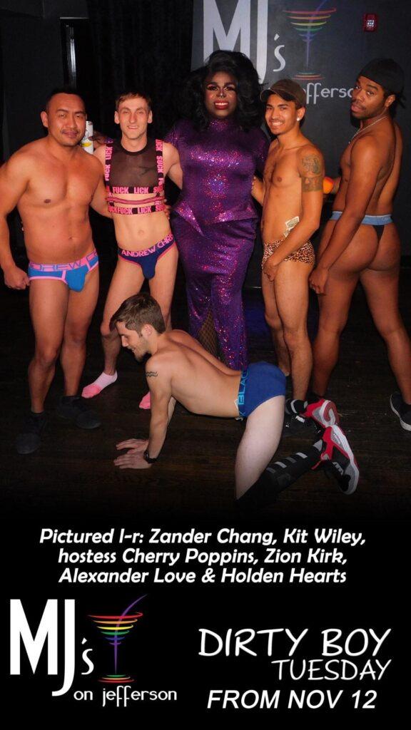 Zander Chang, Kit Wiley, Cherry Poppins, Zion Kirk, Alexander Love and Holden Hearts | MJ's on Jefferson (Dayton, Ohio) | 11/12/2019
