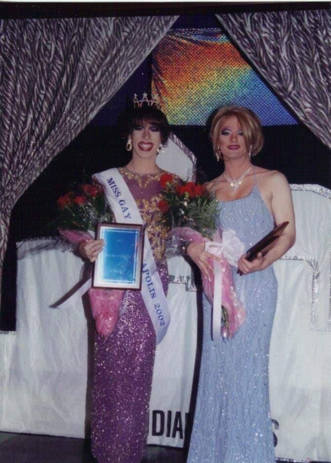 Tonya Bear Rogers and Annastacia DeMoore | Miss Gay Indianapolis America | Club Cabaret (Indianapolis, Indiana) | 4/19/2002