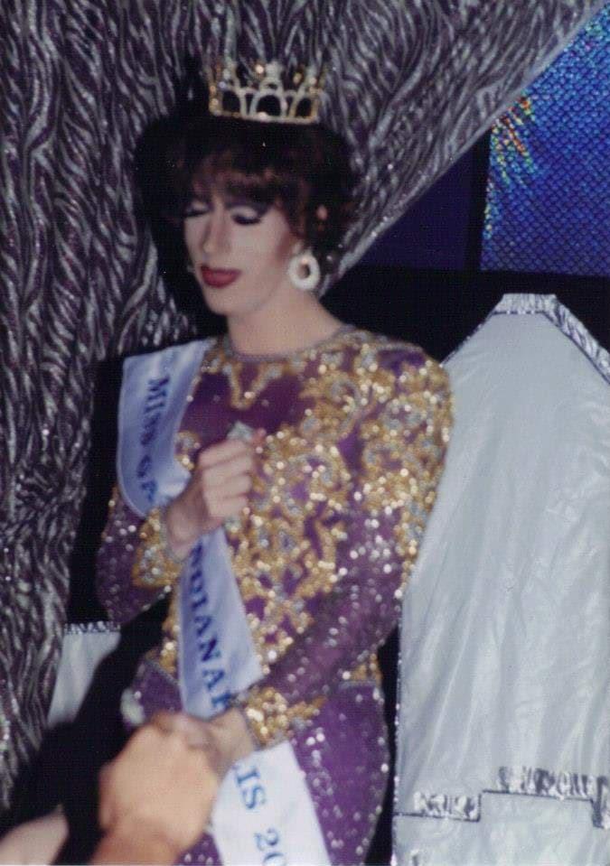 Tonya Bear Rogers | Miss Gay Indianapolis America | Club Cabaret (Indianapolis, Indiana) | 4/19/2002