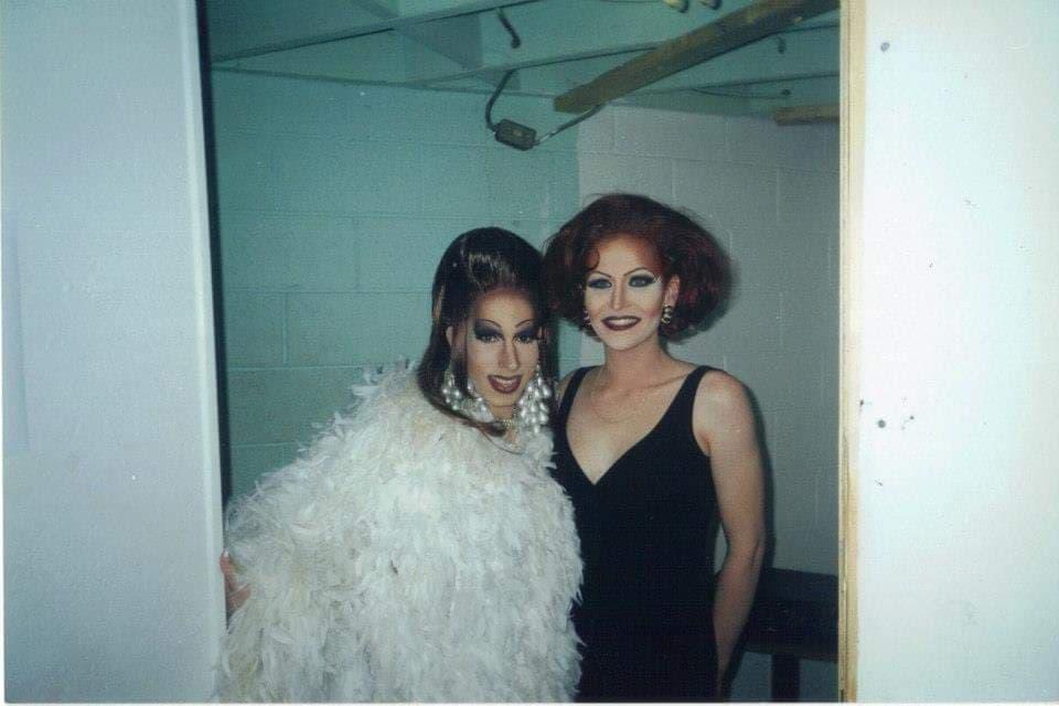 Tonya Bear Rogers and Vicki St. James | Miss Gay Indianapolis America | Club Cabaret (Indianapolis, Indiana) | 4/19/2002