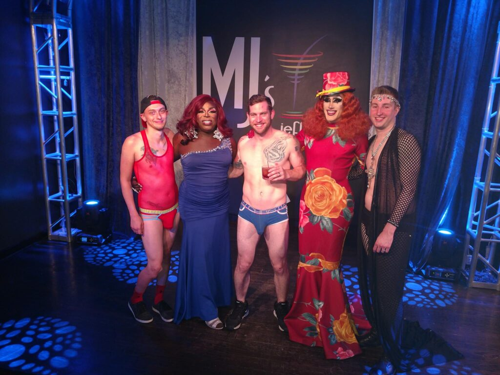 Darwyn Decardeza, Cherry Poppins, Tim Stone, Soy Queen and Dane Decardeza | MJ's on Jefferson (Dayton, Ohio) | July 2018