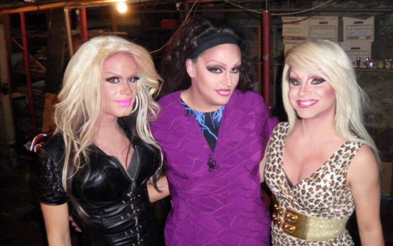 Nikki Dimon, Scarlett Fever and Sasha Dimon | The Yadda Club (Covington, Kentucky) | December 2011