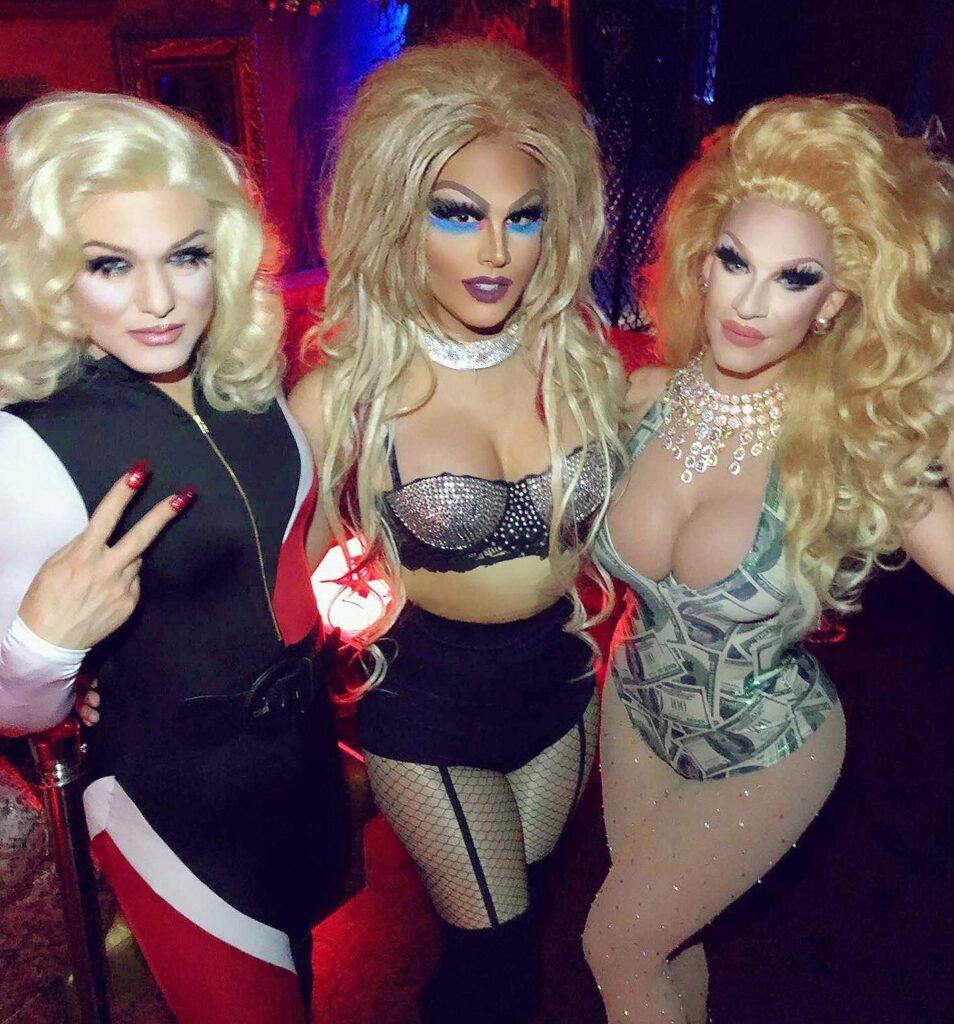 Kenneth Rex, Dahlia Deveraux and London Adour | Piranha Nightclub (Las Vegas, Nevada) | September 2018