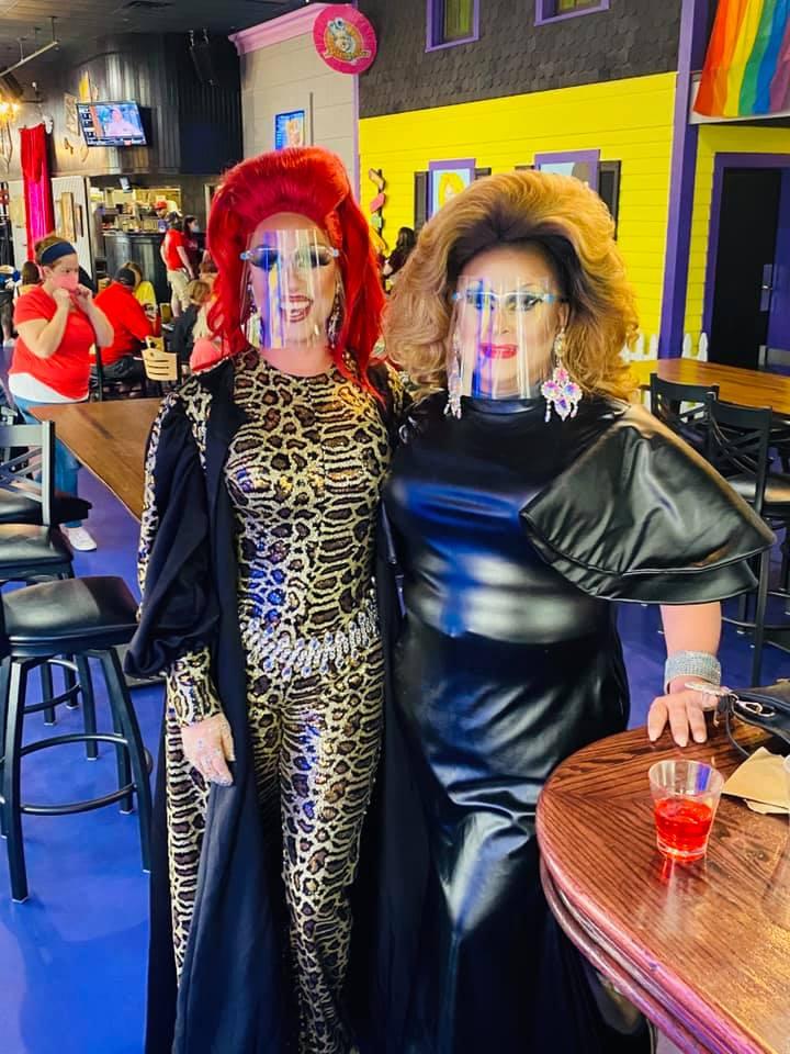 Deva Station and Justyce Sinclaire   Hamburger Mary's (Toledo, Ohio)   September 2020