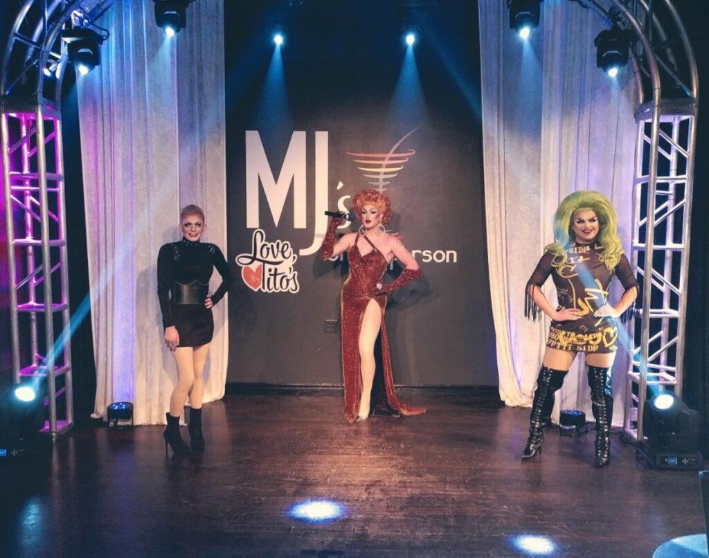 Kari O'Knife, Soy Queen and Selena T. West | MJ's on Jefferson (Dayton, Ohio) | September 2020