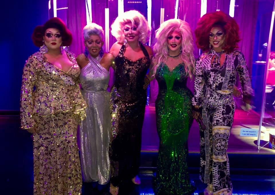Reianna Ali, Georgia Jackson, Sonya Ross, Courtney Kelly and Deva Station | Boscoe's (Columbus, Ohio) | September 2020