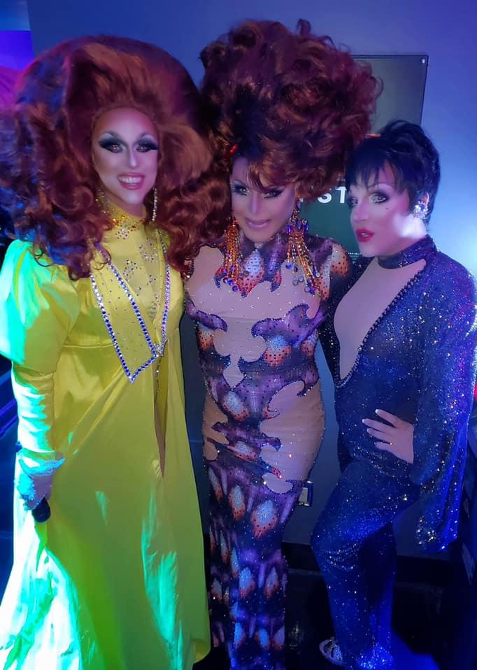 Deva Station, Maria Garrison and Valerie Valentino | Boscoe's (Columbus, Ohio) | 9/27/2020