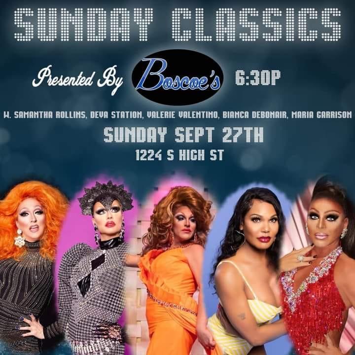 Ad | Sunday Classics | Boscoe's (Columbus, Ohio) | 9/27/2020