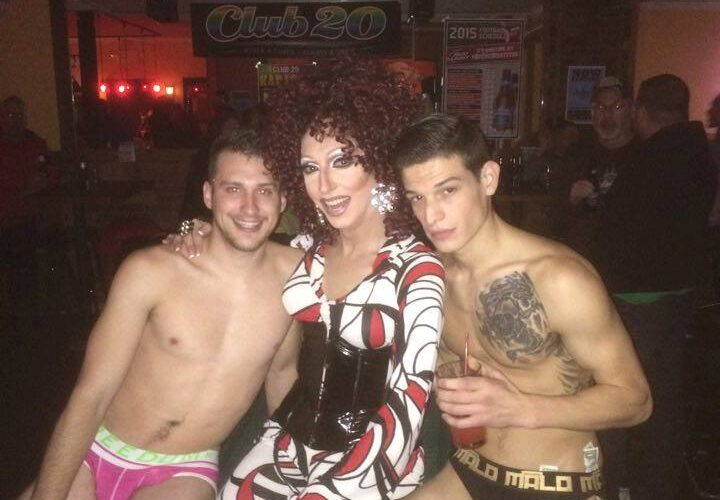 Trouble, Samantha Rollins and Bane McKane   Club 20 (Columbus, Ohio)   November 2015