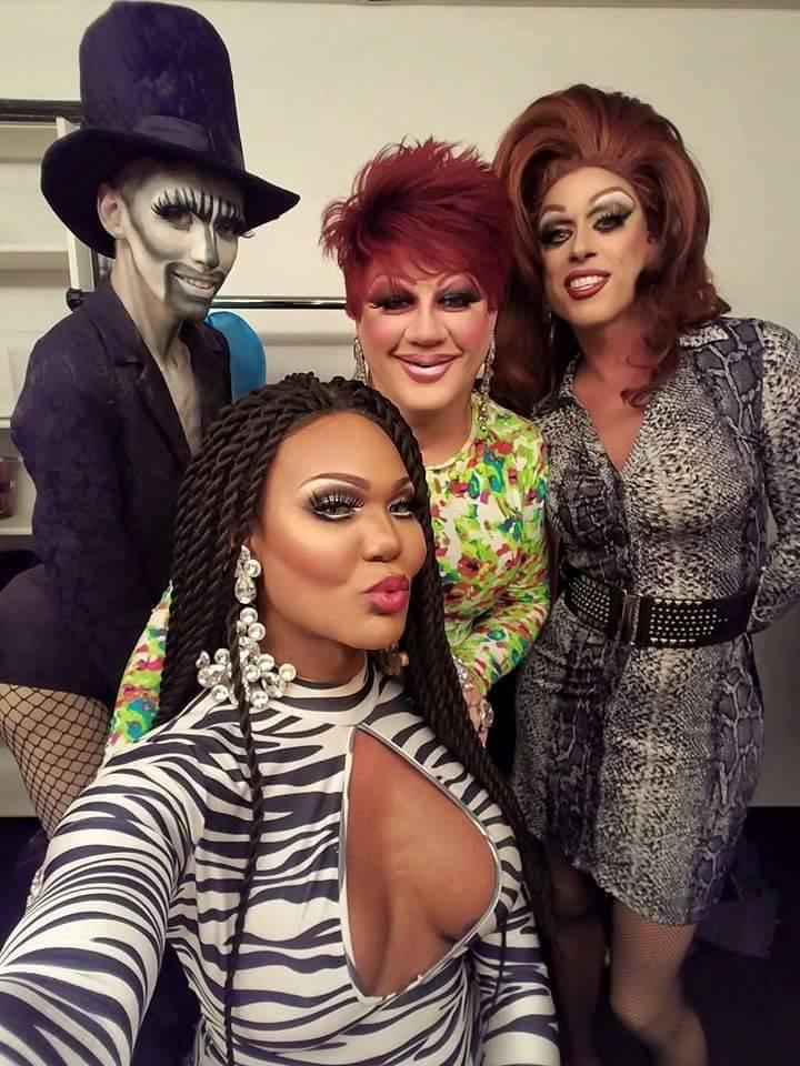 Jennifer Lynn Ali, Bianca Debonair, Hellin Bedd and Deva Station | Boscoe's (Columbus, Ohio) | October 2016