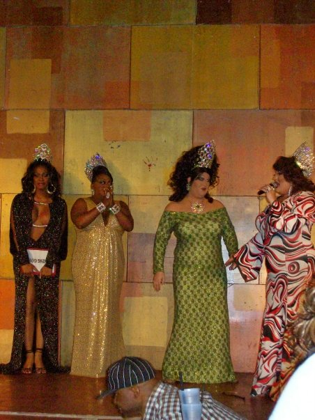 Akasha O'Hara Lords, Tajma Hall, Alexis Stevens and Paige Passion | Miss Gay Ohio USofA at Large | Axis Nightclub (Columbus, Ohio) | Circa 2009