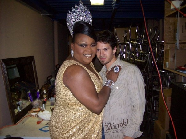 Tajma Hall and Rocco | Miss Gay Ohio USofA at Large | Axis Nightclub (Columbus, Ohio) | Circa 2009