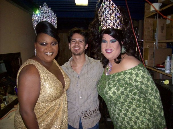 Tajma Hall, Rocco and Alexis Stevens | Miss Gay Ohio USofA at Large | Axis Nightclub (Columbus, Ohio) | Circa 2009