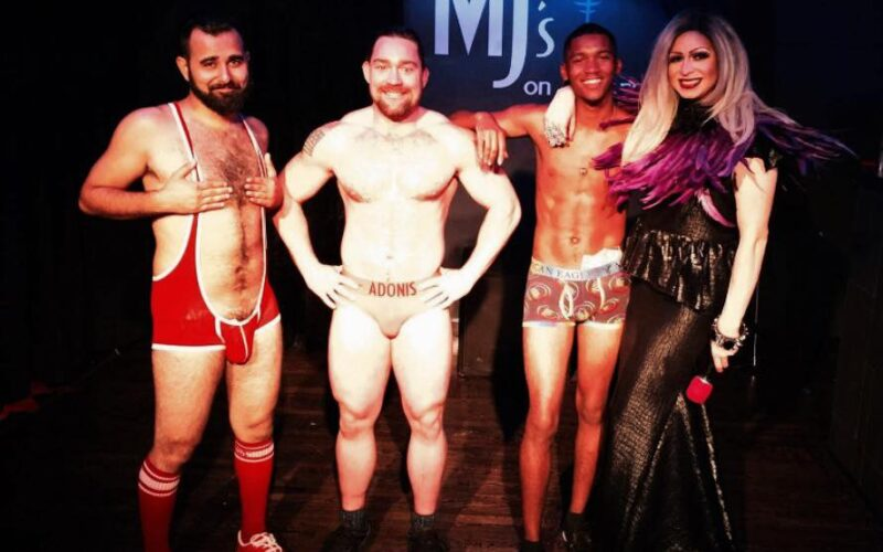 Andy Candy, Adonis Casanova, Emmanuel Soule and Jade Sexton | MJ's on Jefferson (Dayton, Ohio) | August 2017