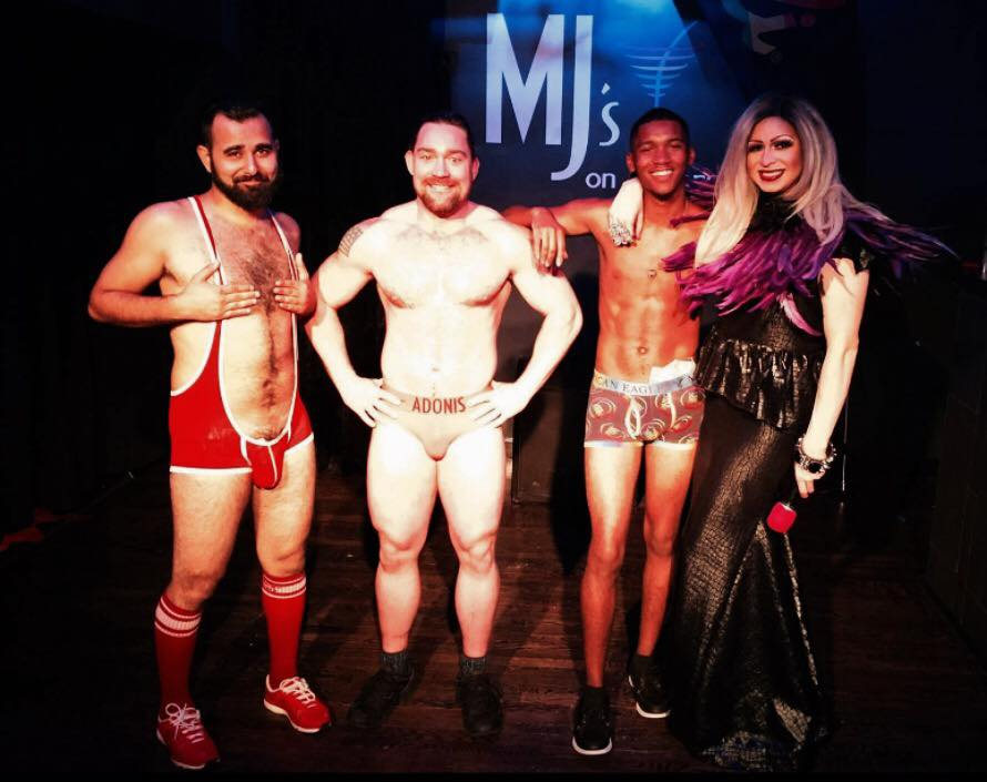 Andy Candy, Adonis Casanova, Emmanuel Soule and Jade Sexton | MJ's on Jefferson (Dayton, Ohio) | August 2017
