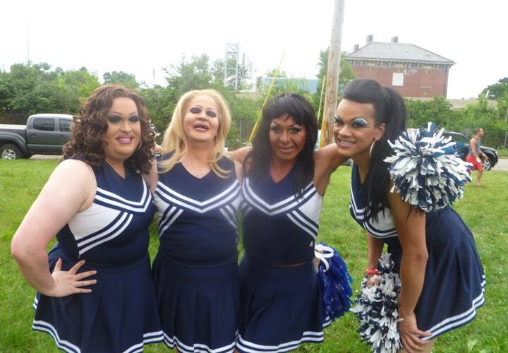 Alexis Stevens, Missy Marlo, Maria Garrison and Kiley Dash-West | Bat-N-Rouge (Columbus, Ohio) | 6/19/2011