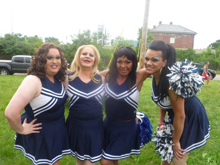 Alexis Stevens, Missy Marlo, Maria Garrison and Kiley Dash-West | Bat-N-Rouge (Columbus, Ohio) | 6/19/2011