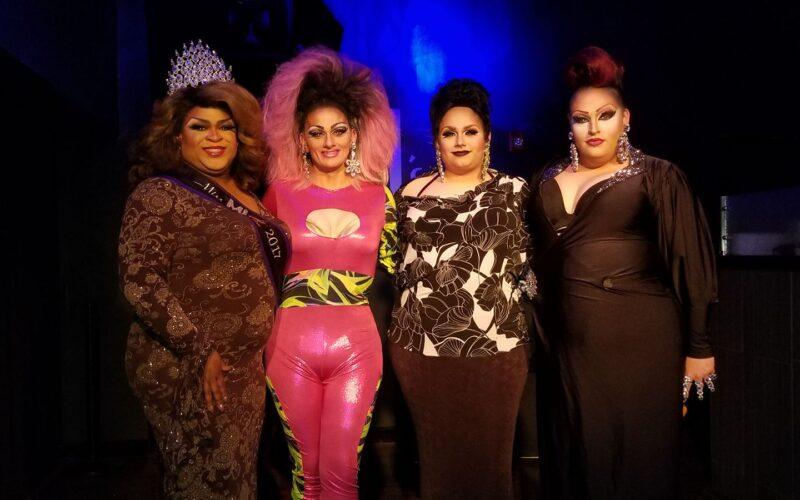 Daray Lorez, Sheridan Steele, Destiny Genesis and Scarlett Fever   MJ's on Jefferson (Dayton, Ohio)   February 2018