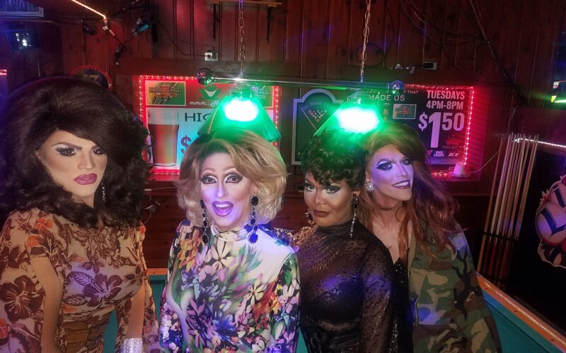 Ava Aurora Foxx, Samantha Rollins, Bianca Debonair and Jennifer Lynn Ali | Highball Tavern (Columbus, Ohio) | August 2018